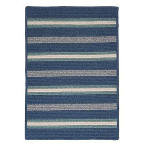 Colonial Mills Salisbury 4-ft x 4-ft Square Indoor Denim Area Rug