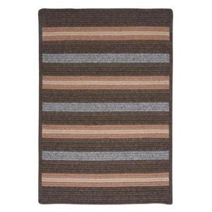 Colonial Mills Salisbury 8-ft x 8-ft Square Indoor Bark Area Rug