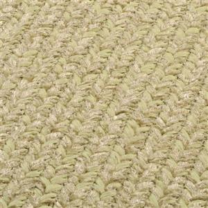 Colonial Mills Simple Chenille 4-ft x 6-ft Sprout Green Rectangular Area Rug