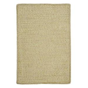 Colonial Mills Simple Chenille 7-ft W x 9-ft Sprout Green Area Rug