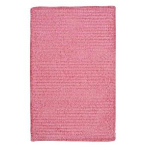 Colonial Mills Simple Chenille 8-ft x 8-ft Silken Rose Square Indoor Handcrafted Area Rug