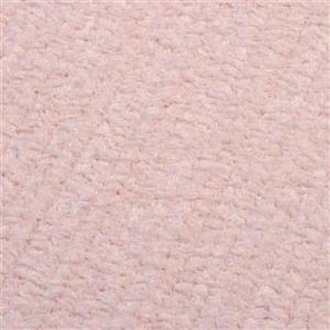 Colonial Mills Simple Chenille 7-ft x 9-ft Blush Pink Indoor Handcrafted Area Rug