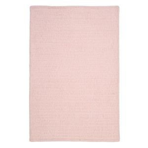 Colonial Mills Simple Chenille 8-ft x 11-ft Blush Pink Rectangular Indoor Handcrafted Area Rug