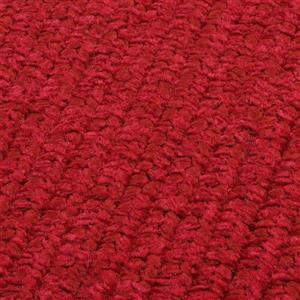 Colonial Mills Simple Chenille 4-ft x 6-ft Sangria Rectangular Area Rug