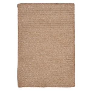 Colonial Mills Simple Chenille 4-ft x 4-ft Sand Bar Square Indoor Handcrafted Area Rug