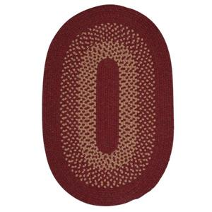 Colonial Mills Madison 8-ft Holly Berry Round Area Rug