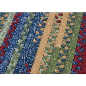 Colonial Mills Market Mix 2-ft x 6-ft Rectangular Indoor Sea Glass Area Rug Runner