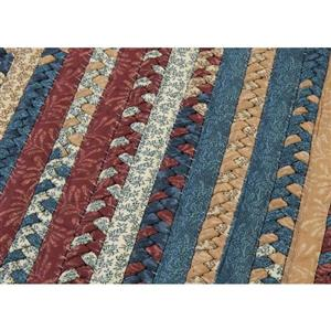 Colonial Mills Market Mix 2-ft x 8-ft Rectangular Indoor Sea Glass Area Rug Runner