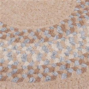 Colonial Mills North Ridge 5-ft and 6-ft Oatmeal Round Area Rug