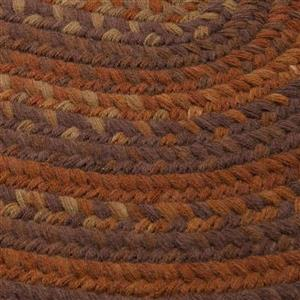Colonial Mills Rustica 6-ft Round Audubon Russett Area Rug