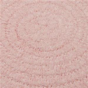 Colonial Mills Spring Meadow 4-ft Round Indoor Blush Pink Area Rug