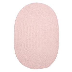 Colonial Mills Spring Meadow 5-ft x 8-ft Oval Indoor Blush Pink Area Rug