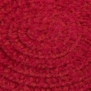 Colonial Mills Spring Meadow 4-ft x 6-ft Oval Indoor Sangria Area Rug