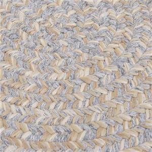 Colonial Mills Tremont 7-ft x 9-ft Gray Handcrafted Area Rug