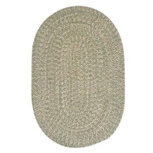 Colonial Mills Tremont 8-ft x 11-ft Palm Oval Area Rug