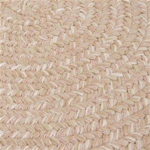 Colonial Mills Tremont 5-ft x 8-ft Oatmeal Oval Area Rug
