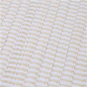 Colonial Mills Ticking Stripe 7-ft x 9-ft Rectangular Indoor Canvas Area Rug
