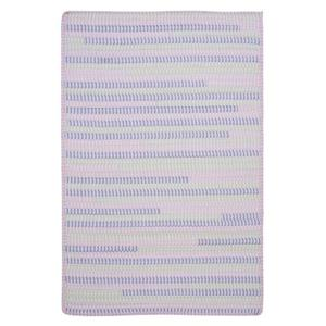 Colonial Mills Ticking Stripe Rectangle 2-ft x 8-ft Handcrafted Dreamland Indoor Runner