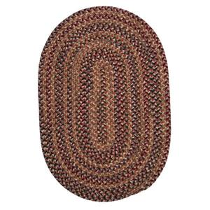 Colonial Mills Twilight 3-ft and 4-ft Rosewood Handcrafted Round Area Rug