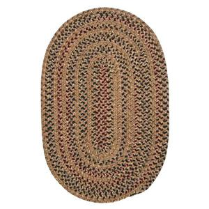 Colonial Mills Twilight 5-ft and 6-ft Evergold Handcrafted Round Area Rug