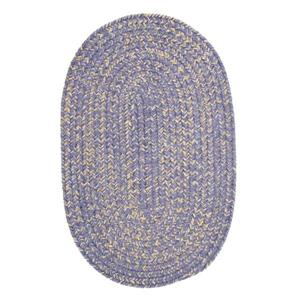 Colonial Mills West Bay 4-ft Amethyst Handcrafted Round Runner Rug