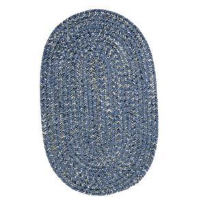 Colonial Mills West Bay Area Rug, Blue Tweed