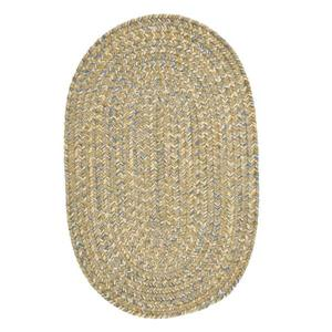 Colonial Mills West Bay 5-ft x 8-ft Oval Indoor Celery Tweed Area Rug