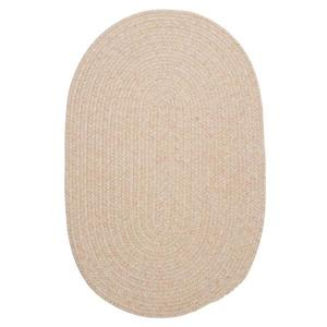 Colonial Mills Bristol 4-ft Round Natural Area Rug