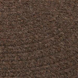 Colonial Mills Bristol 3-ft x 5-ft Dark Brown Area Rug