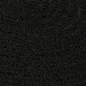 Colonial Mills Bristol 3-ft and 4-ft Round/Square Black Area Rug