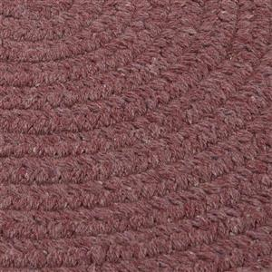 Colonial Mills Bristol 5-ft and 6-ft Round/Square Dark Plum Area Rug