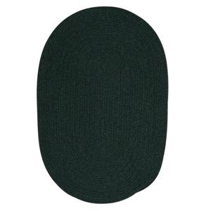 Colonial Mills Bristol 5-ft and 6-ft Dark Green Round Area Rug