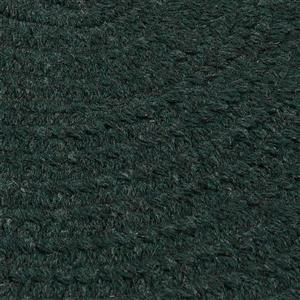 Colonial Mills Bristol 8-ft x 11-ft Dark Green Oval Area Rug