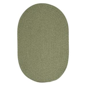Colonial Mills Bristol 8-ft Round Palm Area Rug
