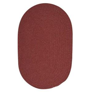 Colonial Mills Bristol 6-ft Round Rosewood Area Rug