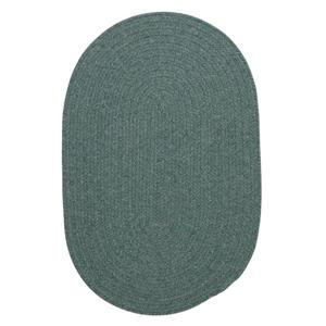 Colonial Mills Bristol 5-ft x 8-ft Oval Teal Area Rug