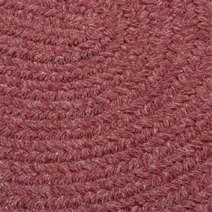 Colonial Mills Bristol 2-ft x 12-ft Mauve Area Rug Runner