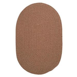 Colonial Mills Bristol 6-ft Round Mocha Area Rug