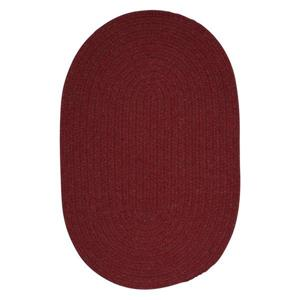 Colonial Mills Bristol 4-ft Round Holly Berry Area Rug