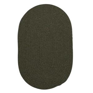 Colonial Mills Bristol 4-ft Round Olive Area Rug