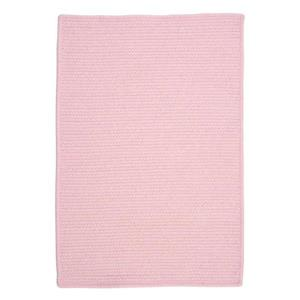 Colonial Mills Westminster 5-ft x 8-ft Rectangular Indoor Blush Pink Area Rug