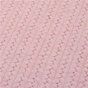 Colonial Mills Westminster 6-ft x 6-ft Square Indoor Blush Pink Area Rug
