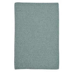 Colonial Mills Westminster 8-ft x 8-ft Square Indoor Teal Area Rug
