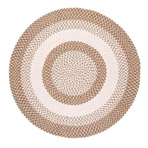 Colonial Mills Blokburst 4-ft Round Natural Wonder Area Rug