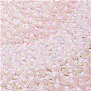 Colonial Mills Blokburst 2-ft x 8-ft Blush Pink Area Rug