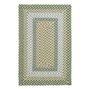 Colonial Mills Montego 4-ft x 4-ft Lily Pad Green Area Rug