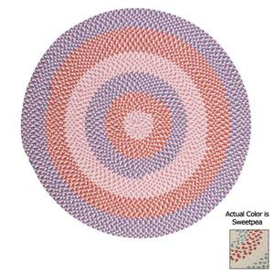 Colonial Mills Carousel 4-ft Sweetpea Round Area Rug