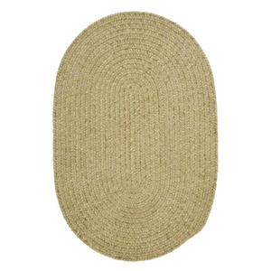 Colonial Mills Spring Meadow 2-ft x 12-ft Oval Indoor/Outdoor Sprout Green Area Rug Runner