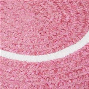 Colonial Mills Silhouette 8-ft x 11-ft Oval Runner Indoor Pink Area Rug