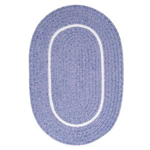 Colonial Mills Silhouette 4-ft x 6-ft Oval Indoor Amethyst Area Rug